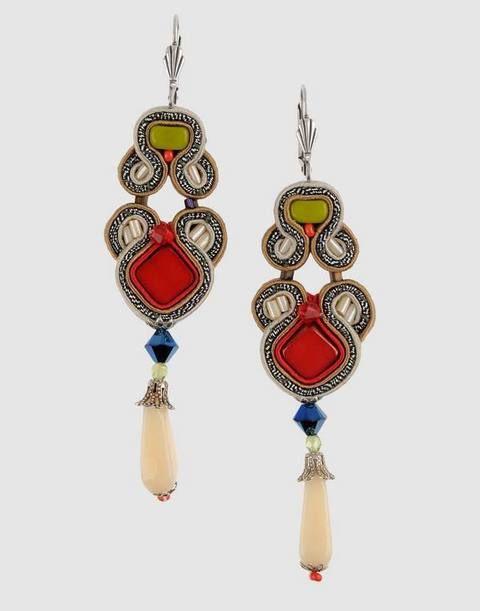 Earrings, Jewellery, Fashion accessory, Body jewelry, Amber, Natural material, Fashion, Jewelry making, Craft, Gemstone,