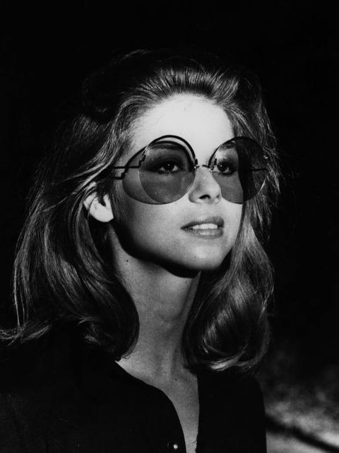 Eyewear, Nose, Vision care, Lip, Mouth, Hairstyle, Sunglasses, Style, Monochrome photography, Monochrome,