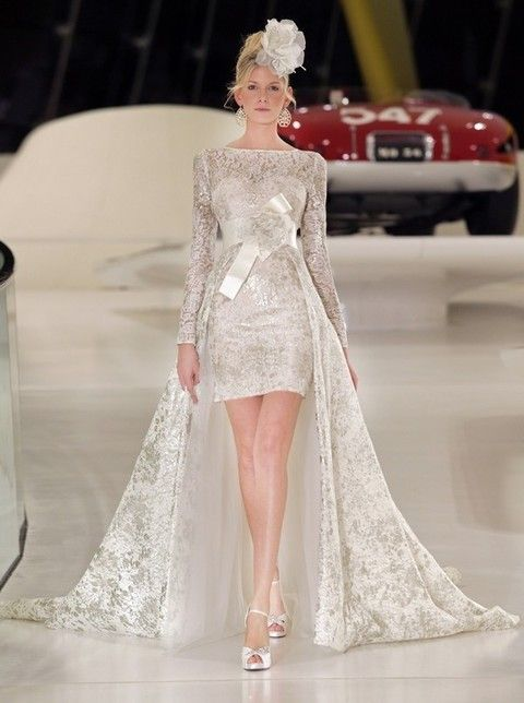 Clothing, Hairstyle, Fashion show, Shoulder, Dress, Red, Runway, Style, Fashion model, Gown,