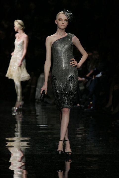 Fashion show, Dress, Runway, Style, Fashion model, One-piece garment, Beauty, Fashion, Waist, Model,