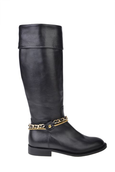 Footwear, Brown, Boot, Costume accessory, Leather, Fashion design, Knee-high boot, Natural material, Riding boot, Cylinder,