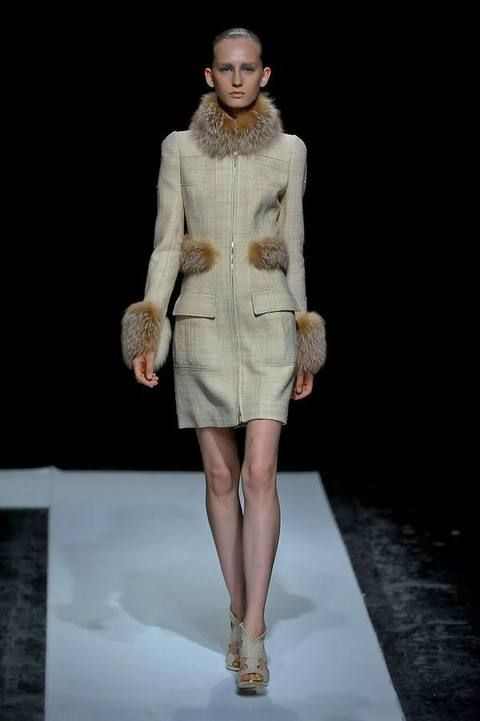 Fashion show, Human body, Shoulder, Human leg, Runway, Outerwear, Fashion model, Style, Dress, Fashion,
