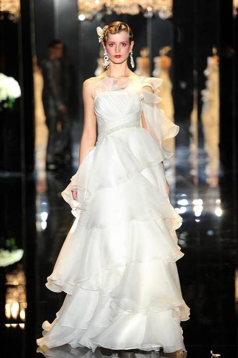 Clothing, Bridal clothing, Shoulder, Dress, White, Gown, Bride, Wedding dress, Formal wear, Embellishment,