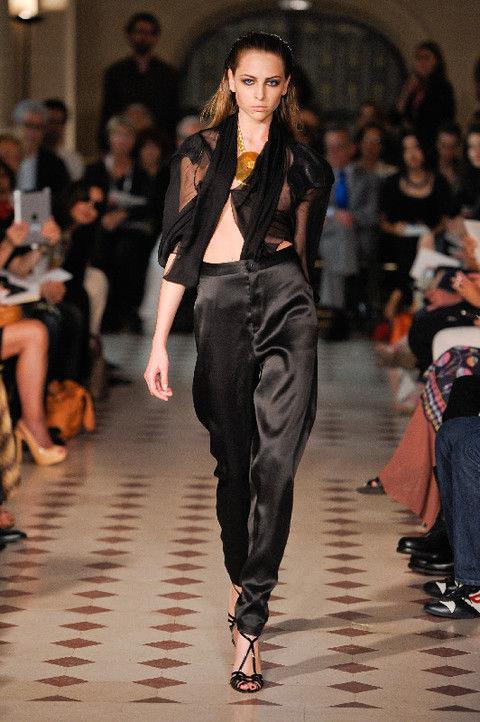 Clothing, Footwear, Fashion show, Event, Shoulder, Runway, Outerwear, Fashion model, Style, Waist,
