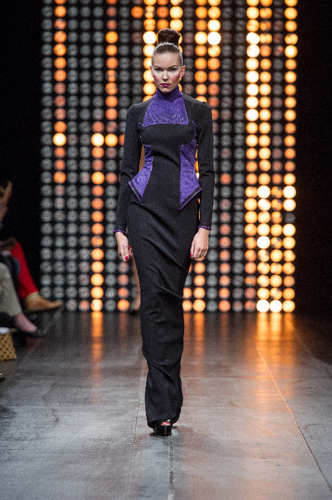 Human body, Fashion show, Runway, Fashion, Fashion model, Street fashion, Waist, Fashion design, Model, One-piece garment,