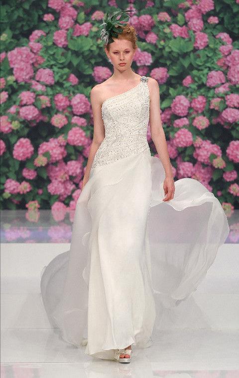 Clothing, Petal, Shoulder, Textile, Dress, Flower, Pink, Bridal clothing, Wedding dress, Gown,