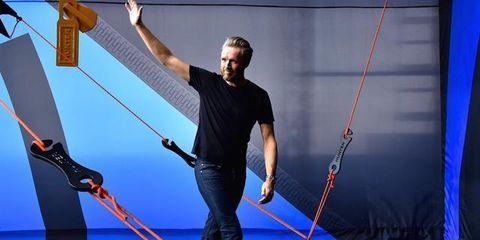 Electric blue, Cobalt blue, Majorelle blue, Rope, Balance, Tarpaulin,