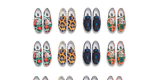 Kenzo x Vans con una nuova collezione di scarpe e un party a