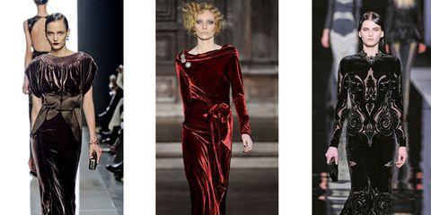 0ed90e13376a Tessuto con il vello. Anima da red carpet e balli principeschi. La vigilia  di natale in questo 24 dicembre 2012 si festeggia con abiti di velluto.