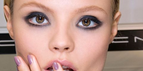 Finger, Lip, Cheek, Brown, Skin, Eyelash, Eyebrow, Nail, Iris, Jaw,