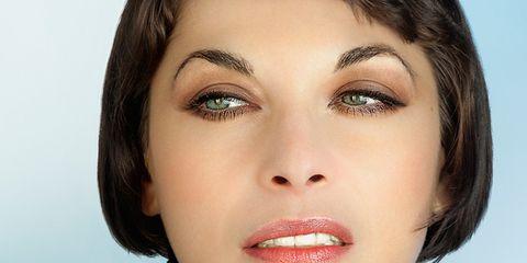 Lip, Cheek, Hairstyle, Skin, Eye, Chin, Forehead, Eyelash, Eyebrow, Eye shadow,