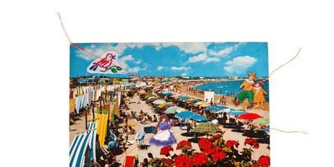 Tourism, Painting, Stock photography, Flag, Umbrella,