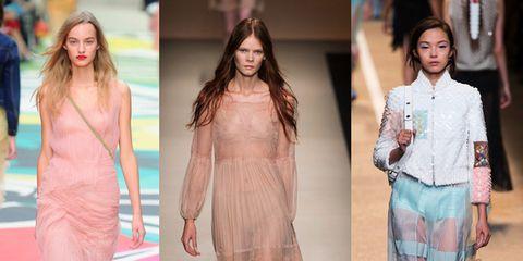 Tendenze primavera-estate 2015: trasparenze, nude look ed effetti see-through