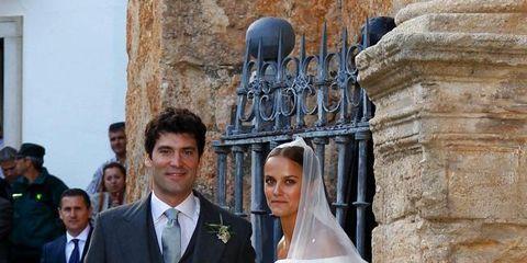 Matrimonio reale: a Granada le nozze da sogno di Lady Charlotte Wellesley e Alejandro Santo Domingo