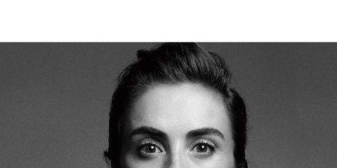Ear, Hairstyle, Eyebrow, Photograph, Monochrome photography, Eyelash, Wrist, Style, Black-and-white, Monochrome,