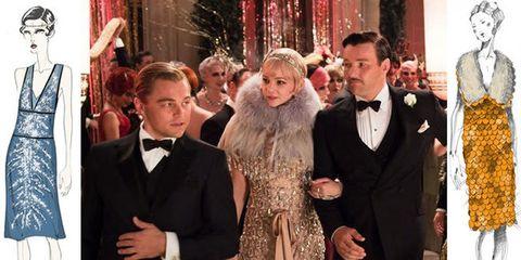 official photos 5a7d6 24cff Prada e Miu Miu firmano i costumi de Il Grande Gatsby