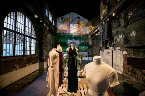 Mannequin, Place of worship, Cloak, Holy places, Stained glass, Vestment, Religious institute, Mantle,