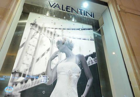 Waist, Wedding dress, Bridal clothing, Bride, Lace, Display window, Retail, Display case, Bridal accessory,