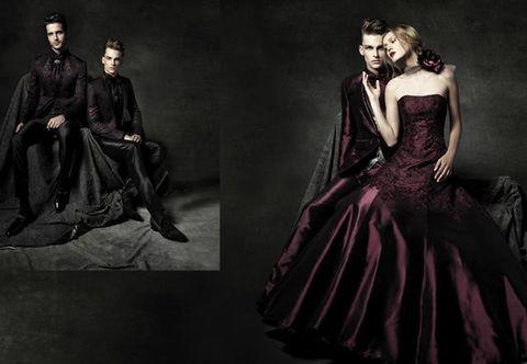 Human body, Dress, Formal wear, Fashion, One-piece garment, Gown, Costume design, Black hair, Fashion model, Victorian fashion,