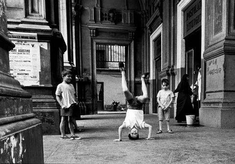 Monochrome, Standing, Monochrome photography, Style, Black-and-white, Street, Column, Snapshot, Conversation, Sidewalk,