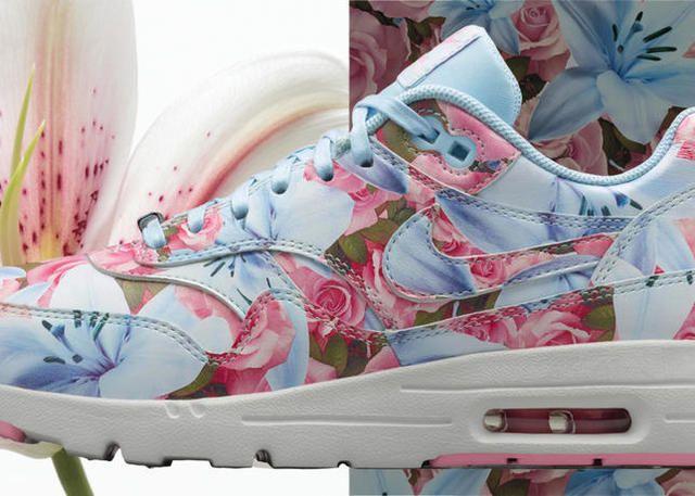 air max con i fiori