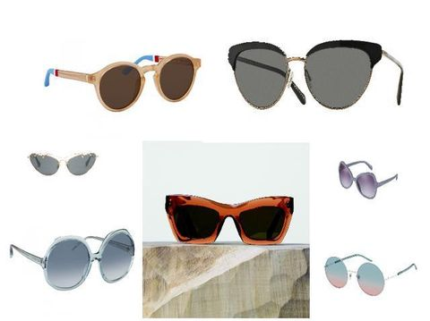Eyewear, Glasses, Vision care, Product, Goggles, Sunglasses, Brown, Personal protective equipment, Photograph, Amber,