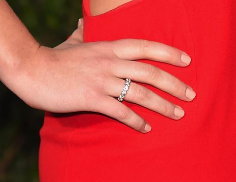 Finger, Jewellery, Skin, Red, Hand, Wrist, Nail, Ring, Fashion accessory, Engagement ring,