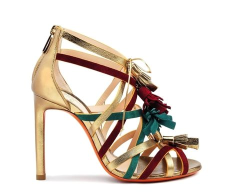 Footwear, Brown, Product, Sandal, Fashion accessory, High heels, Tan, Fashion, Beauty, Teal,