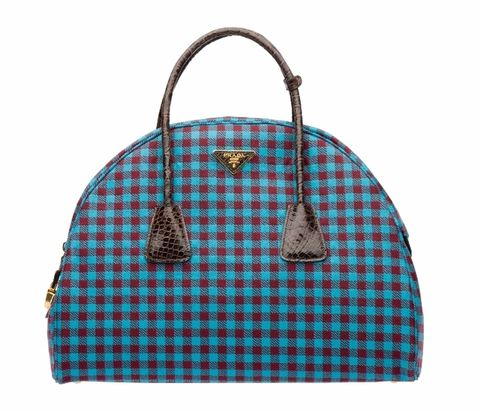 Blue, Product, Pattern, Bag, Textile, Red, White, Plaid, Style, Fashion accessory,