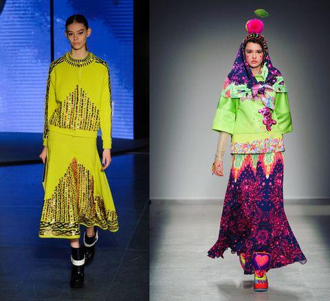 Human body, Style, Fashion show, Magenta, Fashion model, Fashion, Neck, Electric blue, Street fashion, Majorelle blue,