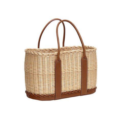 Wicker, Basket, Home accessories, Storage basket, Picnic basket, Beige, Bag, Building material,