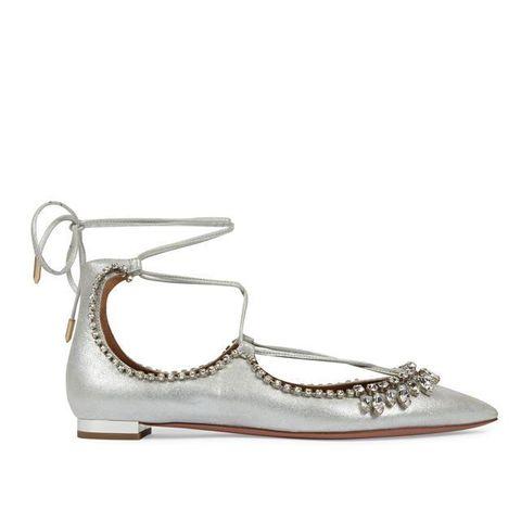 Footwear, Product, White, Fashion accessory, Fashion, Tan, Beige, Fashion design, Dancing shoe, Silver,