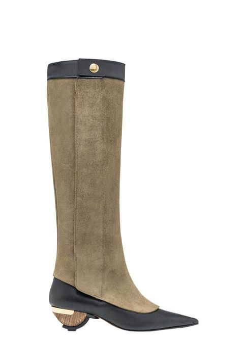 Brown, Boot, Khaki, Riding boot, Tan, Costume accessory, Leather, Beige, Knee-high boot, Liver,
