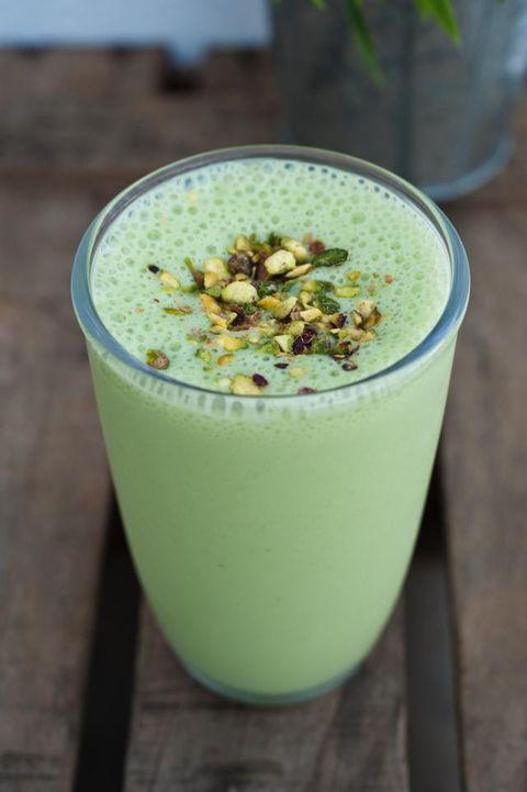 Green, Drink, Health shake, Food, Juice, Ingredient, Liquid, Smoothie, Vegetable juice, Cocktail,