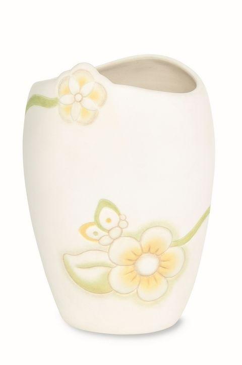 Yellow, Flower, Flowering plant, Beige, Artificial flower, Oval,