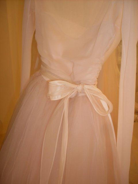 Brown, Dress, Peach, Embellishment, Satin, One-piece garment, Beige, Ivory, Tan, Day dress,