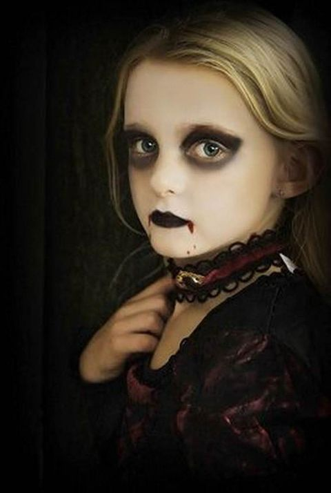 Trucco fai da te  40 idee per truccarsi la notte di Halloween 6ce18f88a7bc
