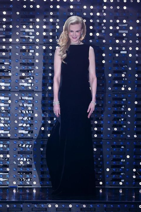 Blue, Dress, Hairstyle, Formal wear, Electric blue, Majorelle blue, Cobalt blue, One-piece garment, Long hair, Day dress,