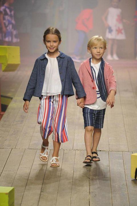 118ec09528788d Il Gufo: abbigliamento bambini le proposte della sfilata Primavera ...