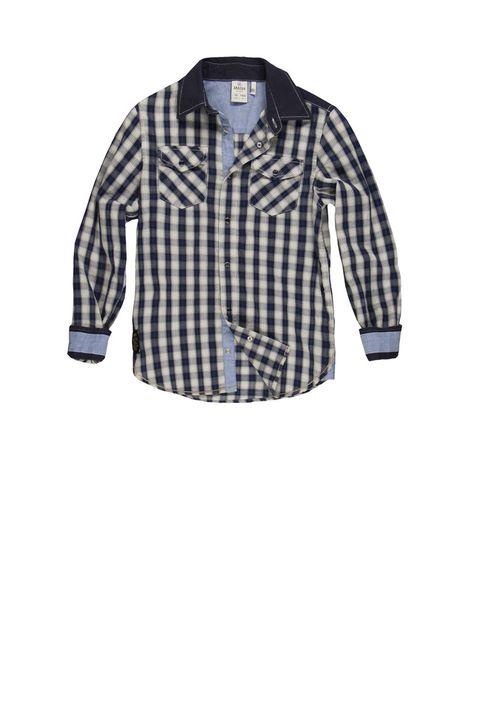 Dress shirt, Product, Collar, Sleeve, Textile, Pattern, White, Style, Fashion, Plaid,