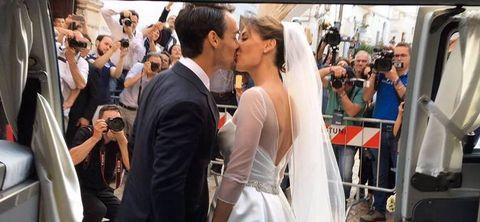 Il matrimonio di Flavia Pennetta e Fabio Fognini