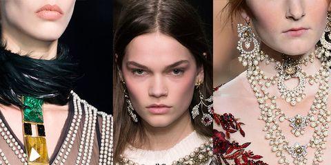 offrire carino e colorato retrò Tendenza moda Autunno Inverno 2016-2017: le collane