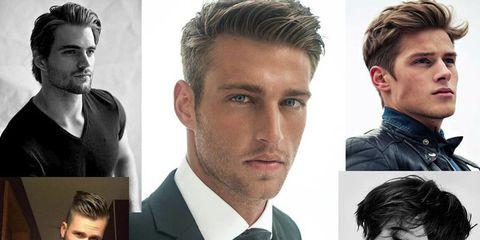 I tagli di capelli per uomo del momento  Corti e sfilati ma con un unico  denominatore  un ciuffo