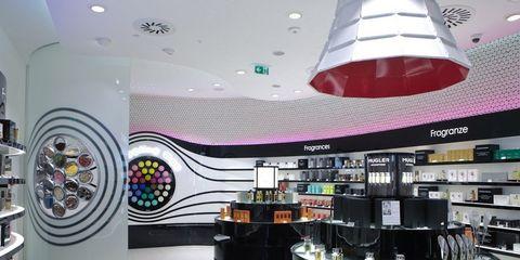 Product, Interior design, Ceiling, Purple, Light fixture, Interior design, Ceiling fixture, Lighting accessory, Design, Electronics,