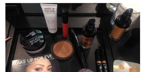 Product, Brown, Liquid, Eyelash, Eye shadow, Peach, Tints and shades, Organ, Beauty, Cosmetics,