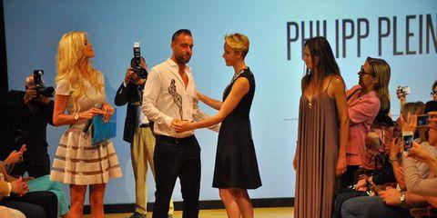 pretty nice 16614 85d05 Philipp Plein premiato da Charlene di Monaco alla Fashion ...