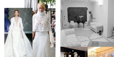 Textile, Photograph, Room, White, Television set, Style, Interior design, Display device, Wedding dress, Grey,