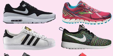 Footwear, Product, Green, Red, Photograph, Shoe, White, Sportswear, Pattern, Athletic shoe,