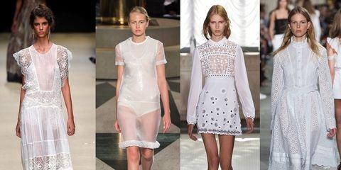 I migliori look da sfoggiare per un week end d estate  Noi non abbiamo  dubbi  sono i vestiti bianchi 56ea539d1ed