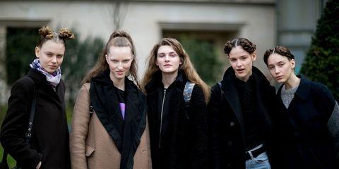 hot sale online 3863e 816de Idee moda: come vestono le modelle fuori dalle sfilate ...